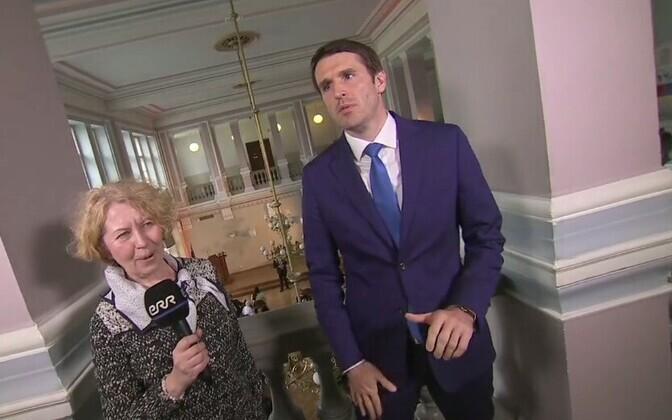 Райнер Вакра дал первое интервью в новом качестве корреспонденту ERR Анне Райсте.