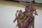 Эстонские гимнастки.