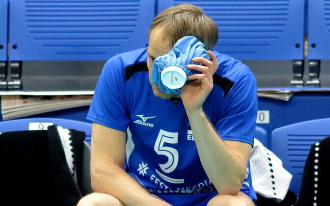 Võrkpalli MM-valikmäng Eesti - Rumeenia / Kert Toobal