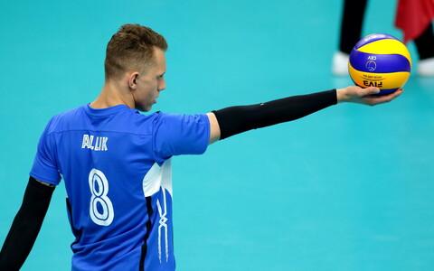 Võrkpalli MM-valikmäng Eesti - Rumeenia / Karli Allik