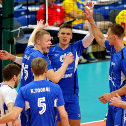 Võrkpalli MM-valikmäng Eesti - Rumeenia / Eesti võrkpallikoondis