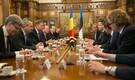"""""""Väärtustame Rumeenia panust partnerina Balti õhuturbesse ja NATO Euroopa raketikaitse arendamisse,"""" ütles Ratas Rumeenia peaministrile Sorin Grindeanule."""