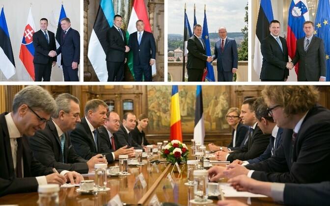 Jüri Ratas külastas kolme päevaga viit Euroopa Liidu riiki.