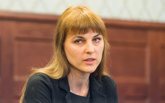 Госпрокурор Лаура Фельдманис