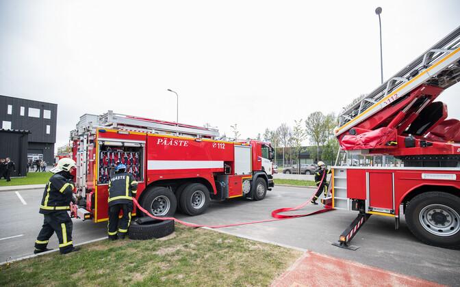 The Rescue Board's new firetrucks.