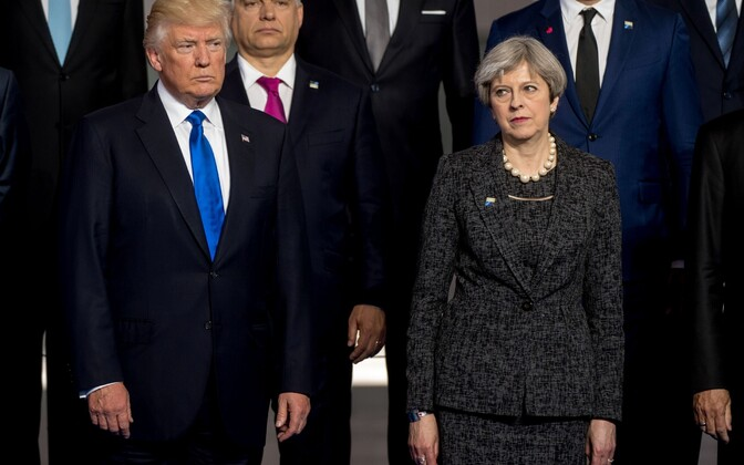 Donald Trump ja Theresa May