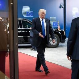 USA president Donald Trump saabumas kohtumisele EL-i juhtidega.