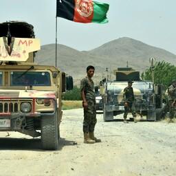 Afganistani sõdurid Kandahari provintsis.