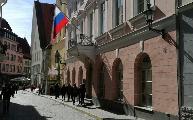 Посольство России в Таллинне. Иллюстративная фотография.