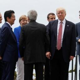 Riigipead G7 tippkohtumisel.