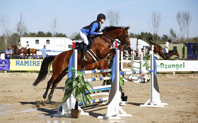 Margareth Eikner hobusega Chica Cirone