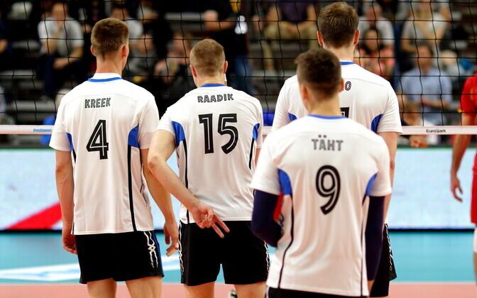 Eesti - Montenegro / Eesti võrkpallikoondis