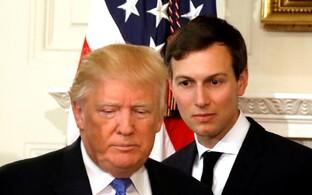 Donald Trump ja Jared Kushner.