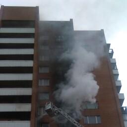 Пожар в жилом доме по Вильде теэ.