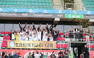 В финале Кубка Эстонии по футболу таллиннский
