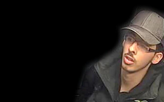 Салман Абеди попал на камеры наблюдения в день взрыва.