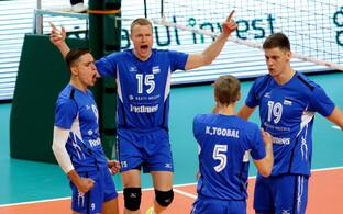 Võrkpalli MM-valikmäng Eesti - Venemaa / Eesti võrkpallikoondis