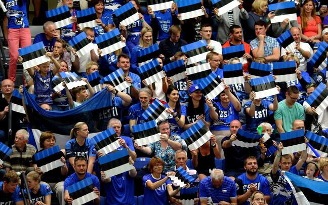Võrkpalli MM-valikmäng Eesti - Venemaa