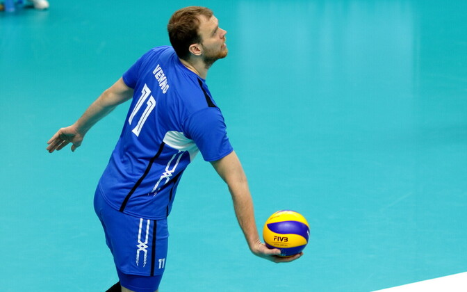 Võrkpalli MM-valikmäng Eesti - Venemaa / Oliver Venno