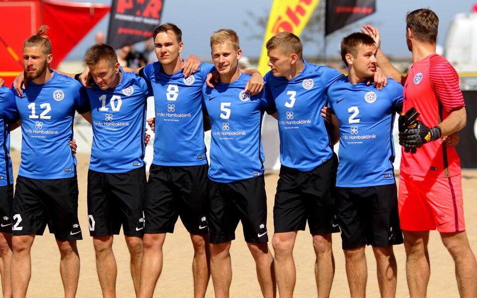 Rannajalgpall Eesti - Soome / Eesti rannajalgpallikoondis