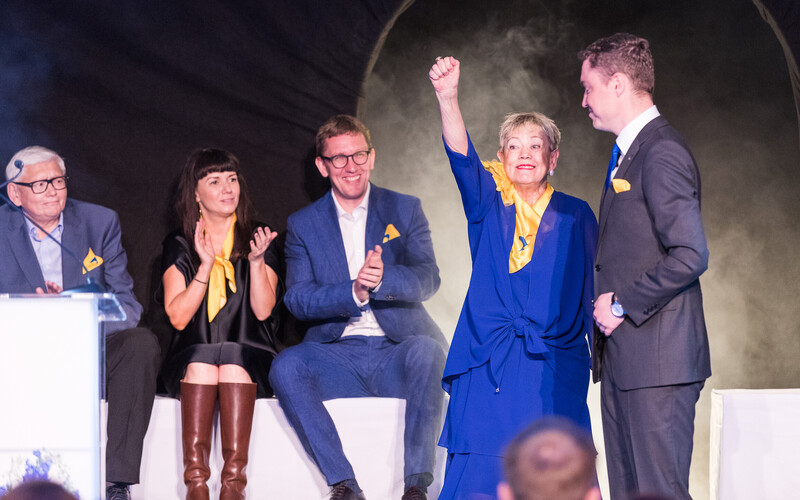 The launch of the Reform Party's election campaign in Tallinn.