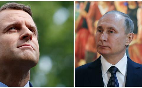 В Париже Владимир Путин впервые встретится с новым президеном Франции Эммануэлем Макроном.