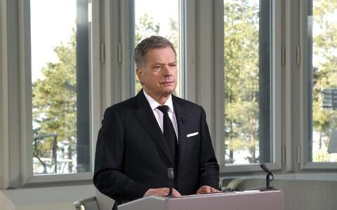 Президент Финляндии Саули Нийнистё.