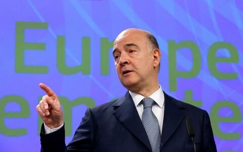 Euroopa Liidu majandusvolinik Pierre Moscovici.
