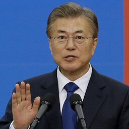 Lõuna-Korea president Moon Jae-in.