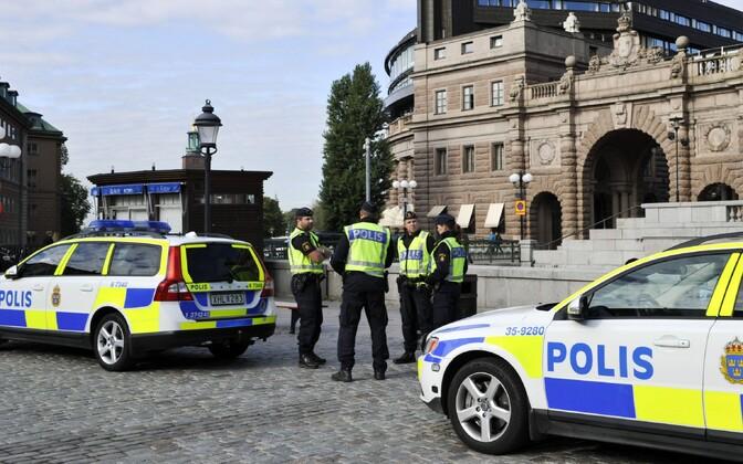 Rootsi politseinikud.