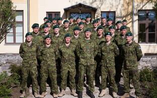 Контингент эстонских военнослужащих Estcon-6 отправился на миротворческую миссию в Ливан.
