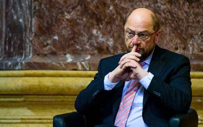Saksa sotsiaaldemokraatide juht Martin Schulz.