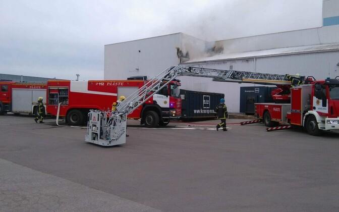 Пожар в типографии Kroonpress.