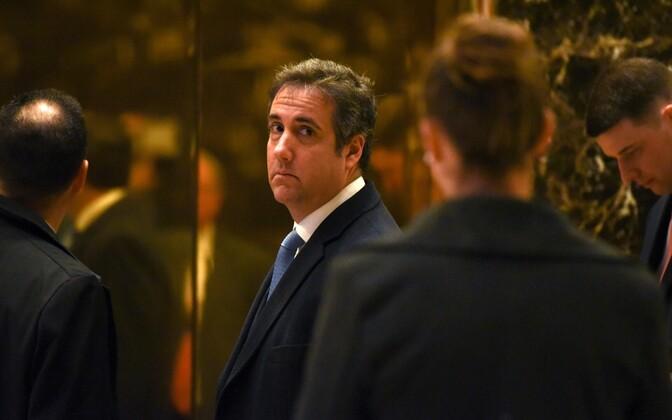 Donald Trumpi advokaat Michael Cohen.