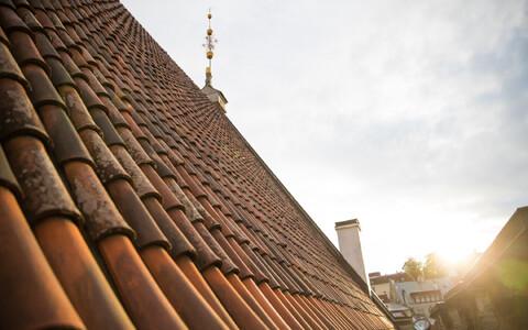 Tallinna raekoja katus
