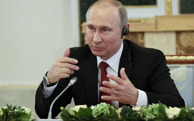 Vladimir Putin 1. juunil Peterburis.