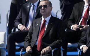 Türgi president Recep Tayyip Erdogan NATO tippkohtumisel 2017. aasta mais.