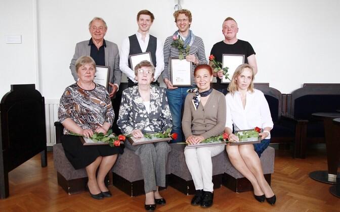 Kolleegipreemiate laureaadid