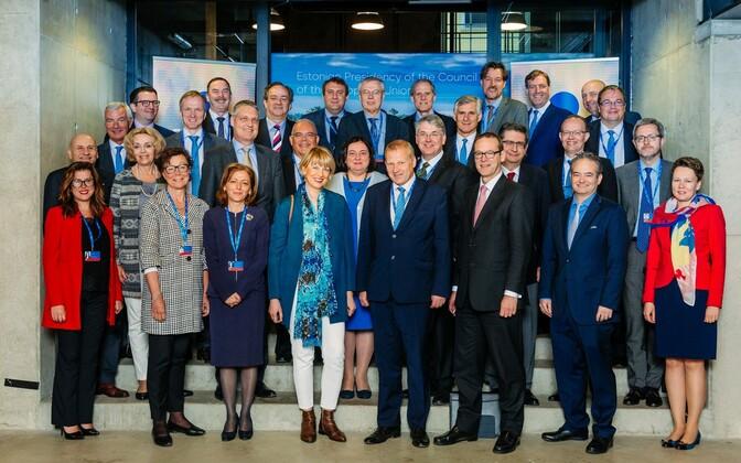 EU states' state secretaries, secretaries-general at Tallinn Creative Hub on Friday. June 2, 2017.