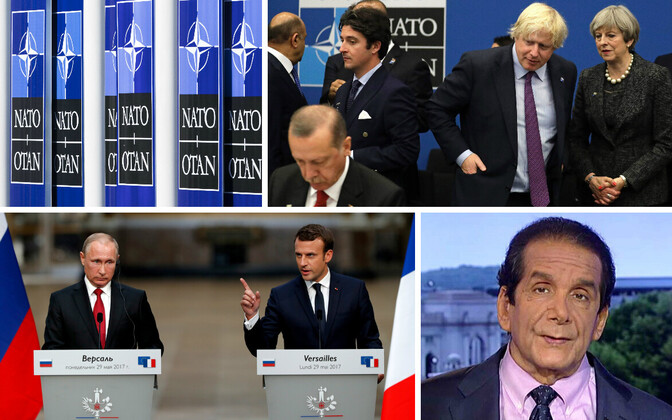 NATO tippkohtumine, Putin ja Macron ning Charles Krauthammer.