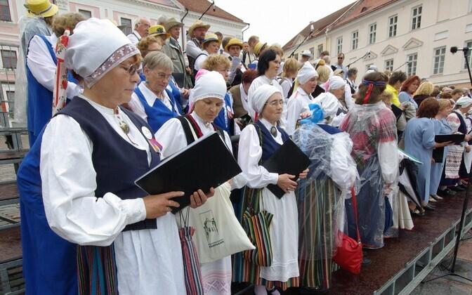 Ingerisoomlaste festival Tartus