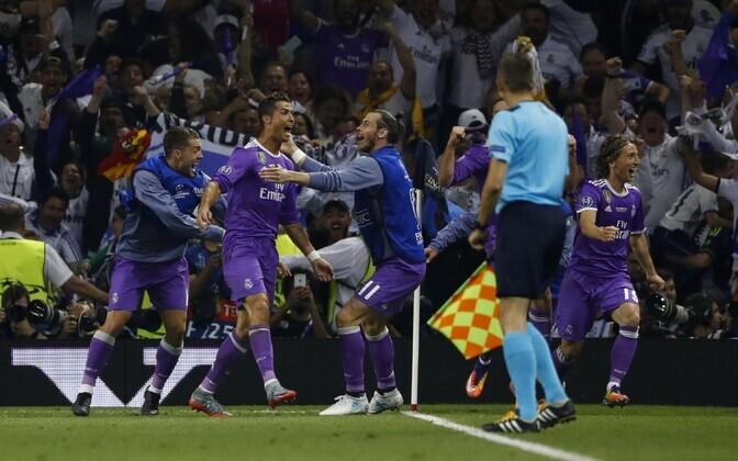 Cristiano Ronaldo ja Madridi Real