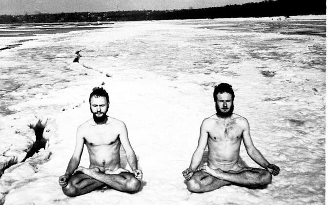 Nõukogude hipide talvine meditatsioon
