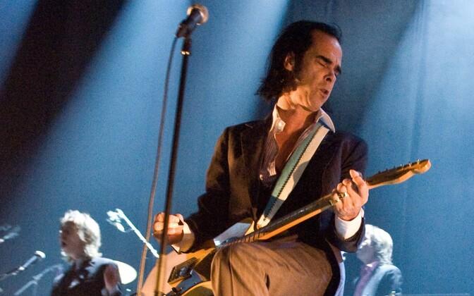 Nick Cave & the Bad Seeds Moskvas aastal 2009.