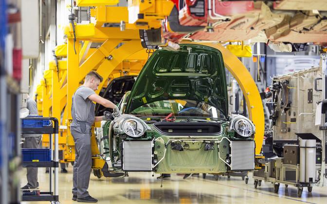 Porsche tehas Saksamaal.