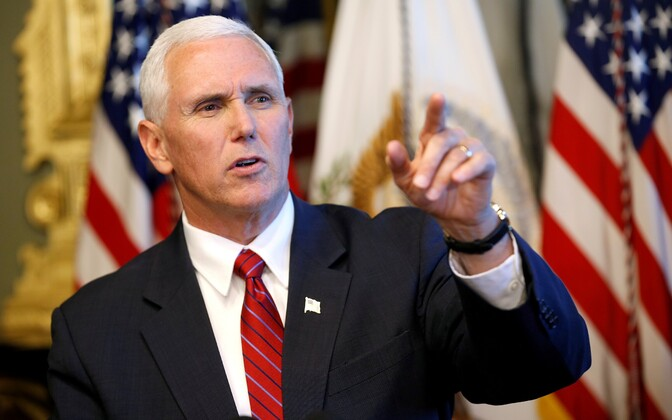 USA asepresident Mike Pence.