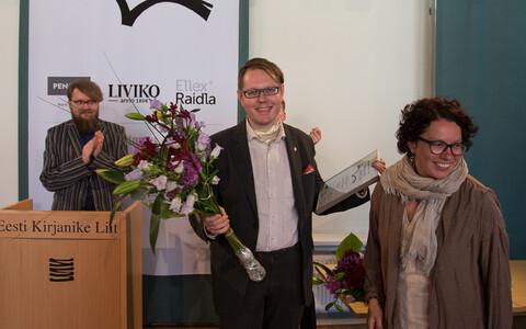 EKLi romaanivõistluse 2017 võitja Vahur Afanasjev.