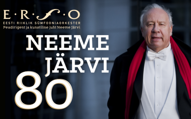 Neeme Järvi's jubilee concert will be broadcast live on ETV on Wednesday night.