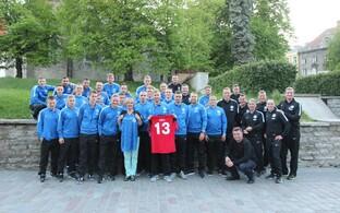 Luule Komissarov ja Eesti jalgpallikoondis