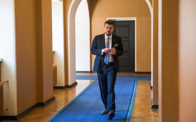 Justiitsminister Urmas Reinsalu.